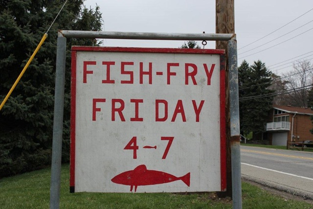F the 5 friday fish fry the chameleon 39 s backbone for Friday fish fry near me
