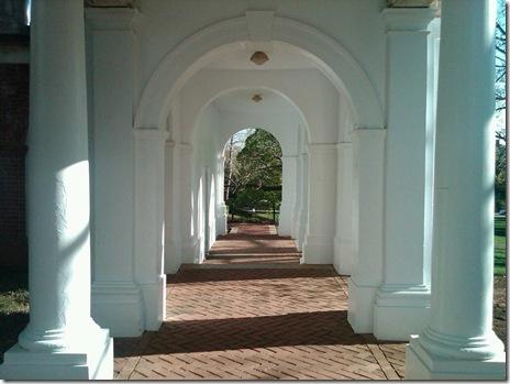UofV Walkway